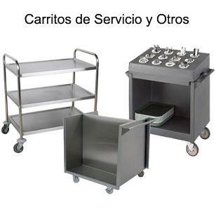 CARRITOS DE SERVICIO & OTROS