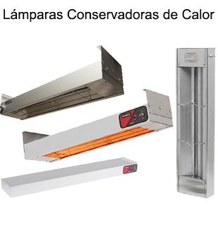 LÁMPARAS CONSERVADORAS DE CALOR