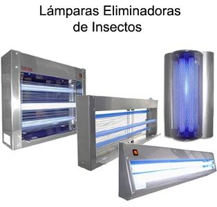 LAMPARAS ELIMINADORAS DE INSECTOS