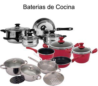 BATERIAS DE COCINA