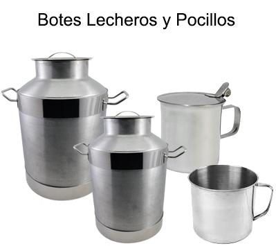 JARRAS, POCILLOS Y BOTES LECHEROS