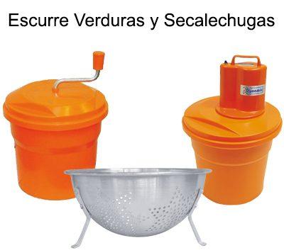 ESCURREVERDURAS & SECALECHUGAS