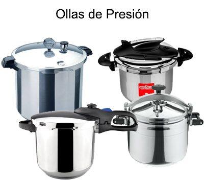 OLLAS DE PRESIÓN